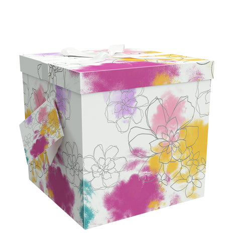 "Carmen EZ Gift Box 9""x9""x9"" Inches - ezgiftbox"