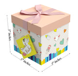 "Petit Bebe EZ Gift Box 5""x5""x5"" Inches - ezgiftbox"