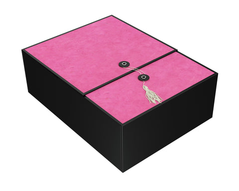 "Karma Fuchsia EZ Gift Box 12""x9""x4"" Inches - ezgiftbox"