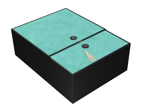 "Karma Emerald EZ Gift Box 12""x9""x4"" Inches - ezgiftbox"