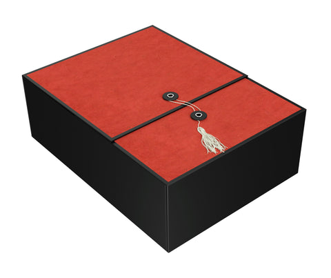 "Karma Red EZ Gift Box 12""x9""x4"" Inches - ezgiftbox"