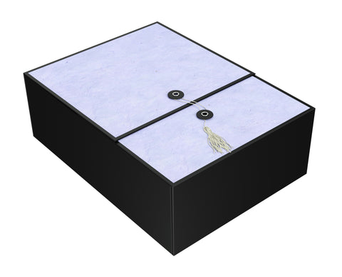 "Karma Lilac EZ Gift Box 12""x9""x4"" Inches - ezgiftbox"