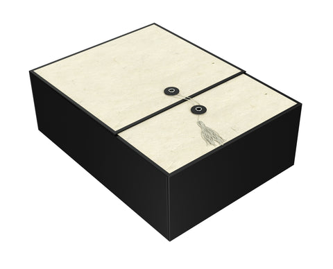 "Karma Ivory EZ Gift Box 12""x9""x4"" Inches - ezgiftbox"