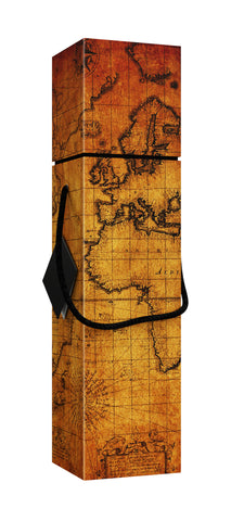 Lafite World Map EZ Wine Box - ezgiftbox