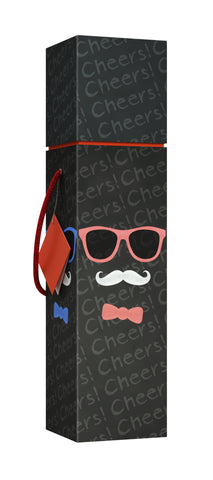 Lafite Mustache EZ Wine Box - ezgiftbox