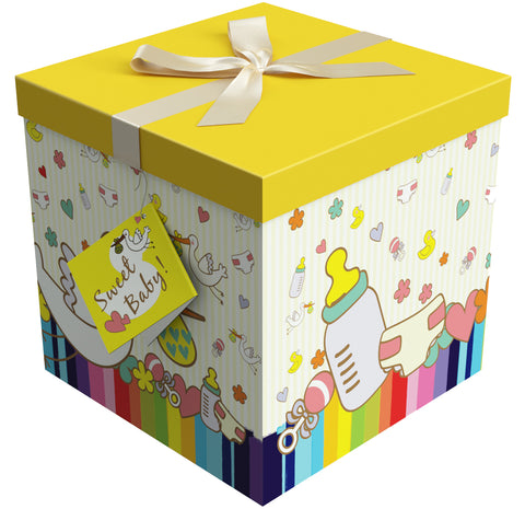 "Petit Bebe EZ Gift Box 12""x12""x12"" Inches - ezgiftbox"