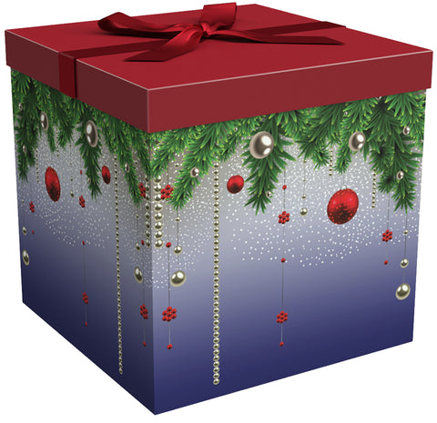 "Silent Night EZ Gift Box 12""x12""x12"" Inches - ezgiftbox"