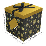 "Starlight EZ Gift Box 9""x9""x9"" Inches - ezgiftbox"