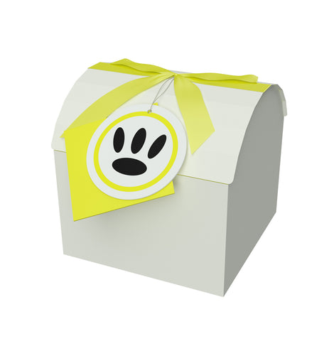 "Chest Box Yellow 4""x4""x3.75"" Inches - ezgiftbox"
