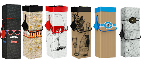 6 Pack Wine Assortment - ezgiftbox