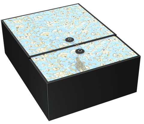 Agra Blue EZ Gift Box Large 12x9x4 Inches - ezgiftbox