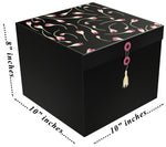 "Rose Buds Lodi EZ Gift Box 10x10x8"" - ezgiftbox"