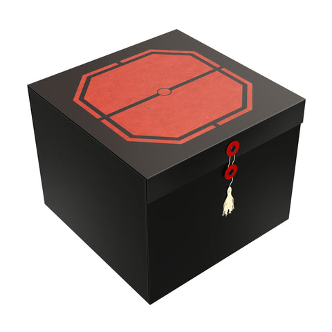 "Red Exa EZ Gift Box 10""x10""x8"" - ezgiftbox"