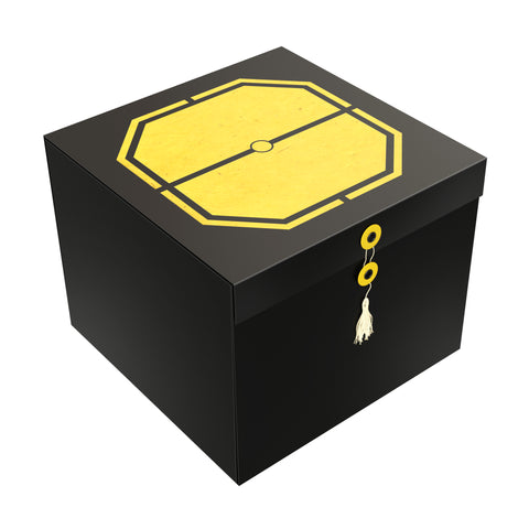 Yellow Exa EZ Gift Box 10x10x8 - ezgiftbox
