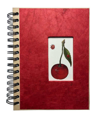 "Spiral Cherry Journal 6""x8"" Inches - ezgiftbox"