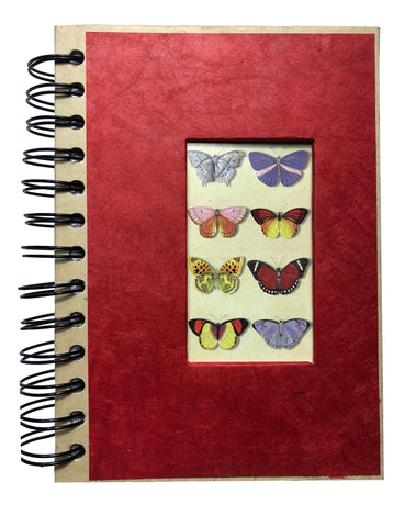 "Spiral Butterfly Journal 5""x7"" Inches - ezgiftbox"