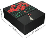 Poppies Karma EZ Gift Box 12x9x4 Inches - ezgiftbox