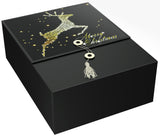 "Reindeer Karma EZ Gift Box 12""x9""x4"" Inches - ezgiftbox"