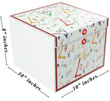 Love Rita EZ Gift Box 10x10x8 Inches - ezgiftbox