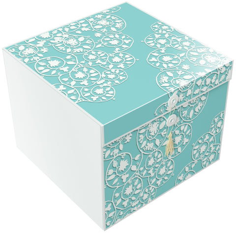 Cassandra Rita EZ Gift Box 10x10x8 Inches - ezgiftbox