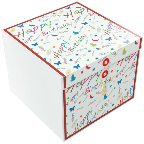 Happy Birthday Rita EZ Gift Box 10x10x8 Inches - ezgiftbox