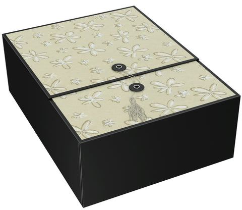 "Vigo Beige EZ Gift Box 12x9x4"" Inches - ezgiftbox"