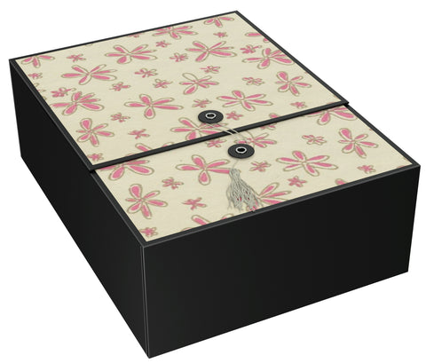 "Vigo Pink EZ Gift Box 12x9x4"" Inches - ezgiftbox"