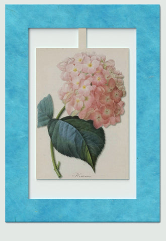 Hydragea Mini Swing Elegant Blank Greeting Cards with Floral Designs for Anniversary, Baby Shower, Birthday, Wedding, and Bridal Shower