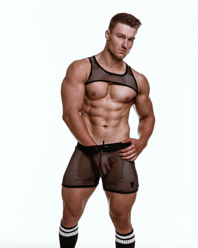 Varsity Mesh - Harness - Black