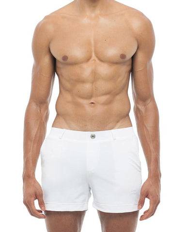 Bondi Shorts - White 2eros