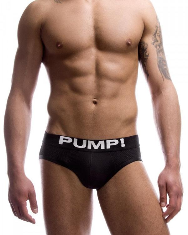 Touchdown Classic Black Brief PUMP!