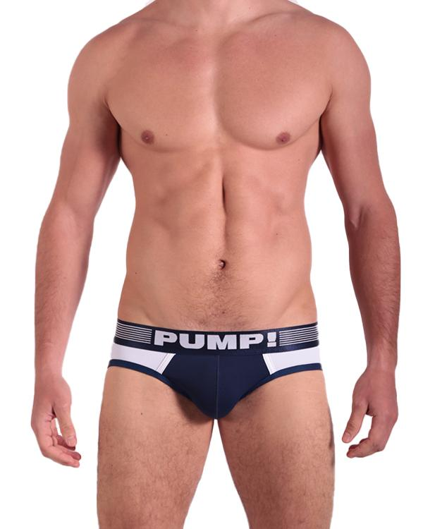 Ribbed Brief - Navy PUMP!
