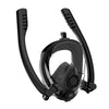 DoubleBreath™ Anti-Fog Full Snorkel Mask