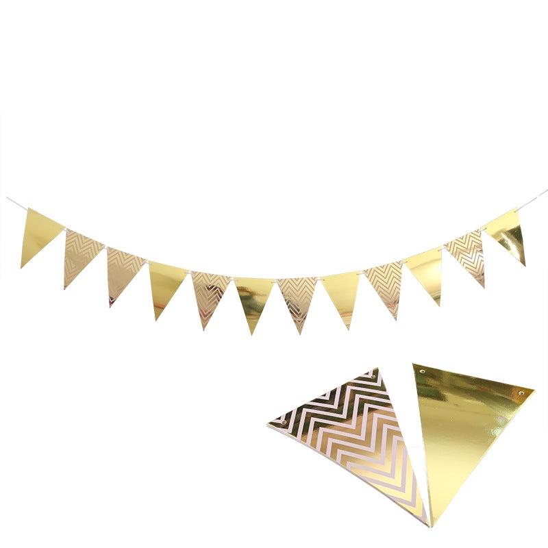 Party Bunting Triangle Bunting Party Banner