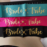 [SG Seller] - Bride to be Team Bride Sash value pack for Bridal shower hens party