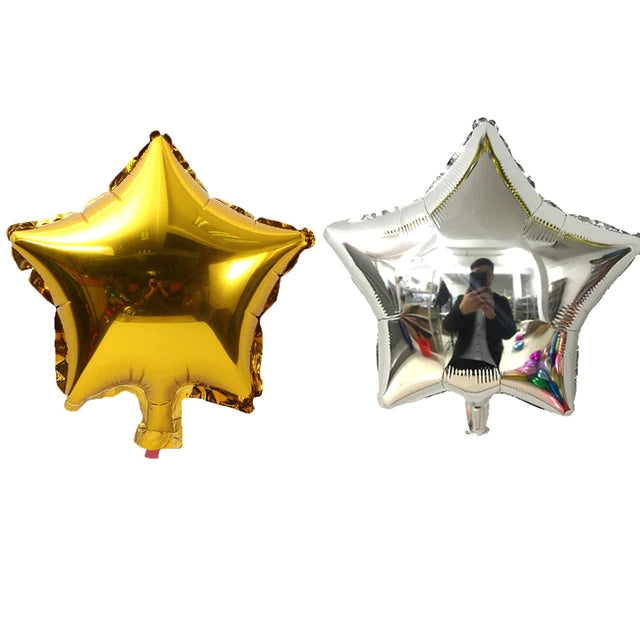 Star shape foil balloon (5 pointed)