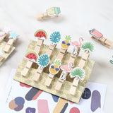 Mini Wooden clips