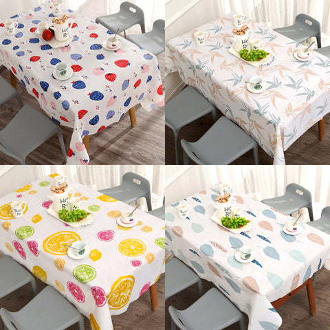 PVC printed waterproof table cloth