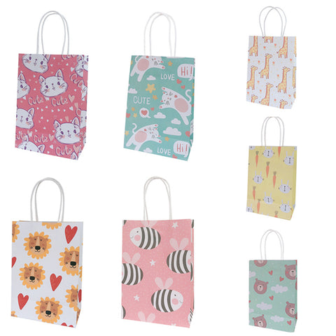 10pcs/pack Printed Paper Bag