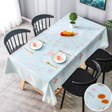 Premium PVC waterproof table cloth