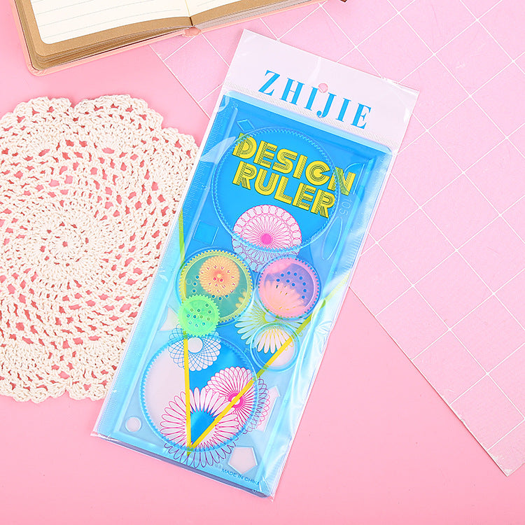 Design Drawing Ruler Kids Birthday goodie bag gift