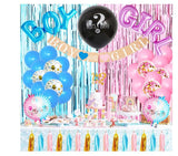 Gender Reveal Complete Decoration Pack for Gender Reveal Party