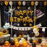 Premium birthday deco set 4 - no helium required