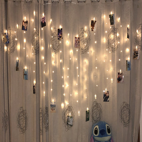 Heart Shape Curtain Light for wedding proposal