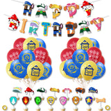 Paw Patrol Set for birthday parties events