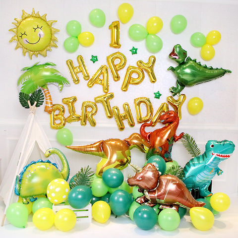 Dinosaur theme balloon decoration pack (3-A)