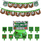 Minecraft game Theme Balloons deco pack