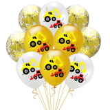 Construction theme Happy birthday party value pack