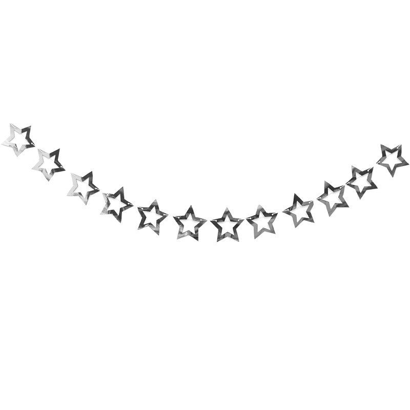 Hollow star garland