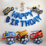 Car theme birthday balloon decoration pack - no helium required